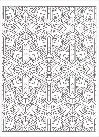 Tessellations Coloring Pages | Coloring pages | Pinterest