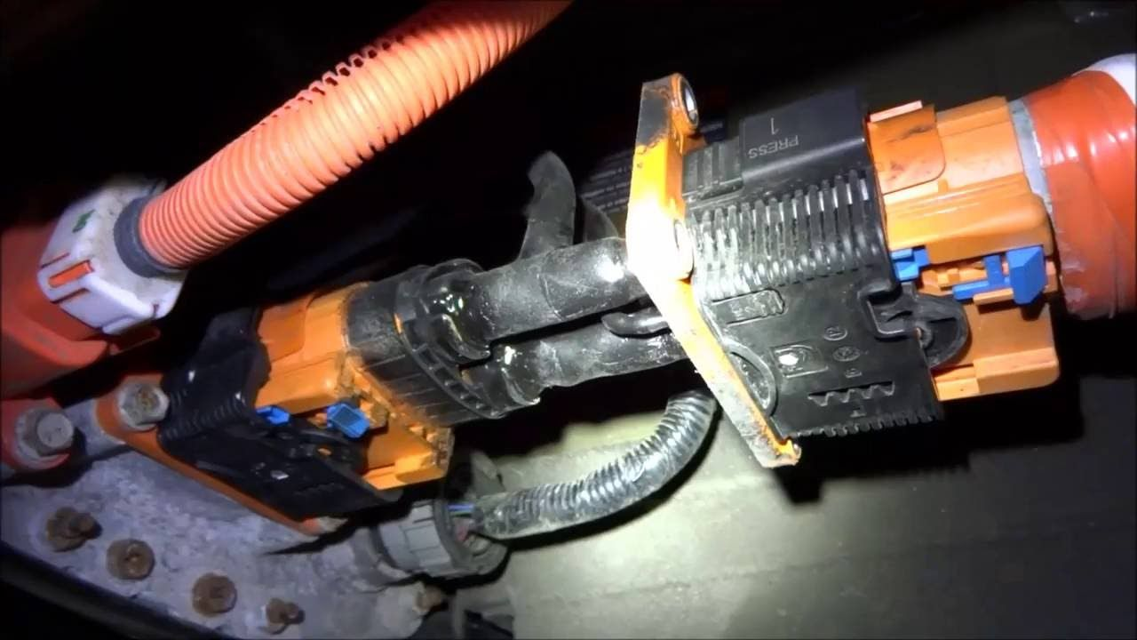 Nissan Leaf Range Extender Pack Build Pt 1 4 Splice Of The High Voltage