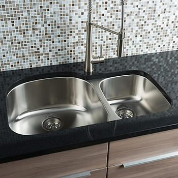 Hahn Chef Series 70 30 Double Bowl Sink Double Bowl Undermount Kitchen Sink Double Bowl Sink Double Bowl Kitchen Sink