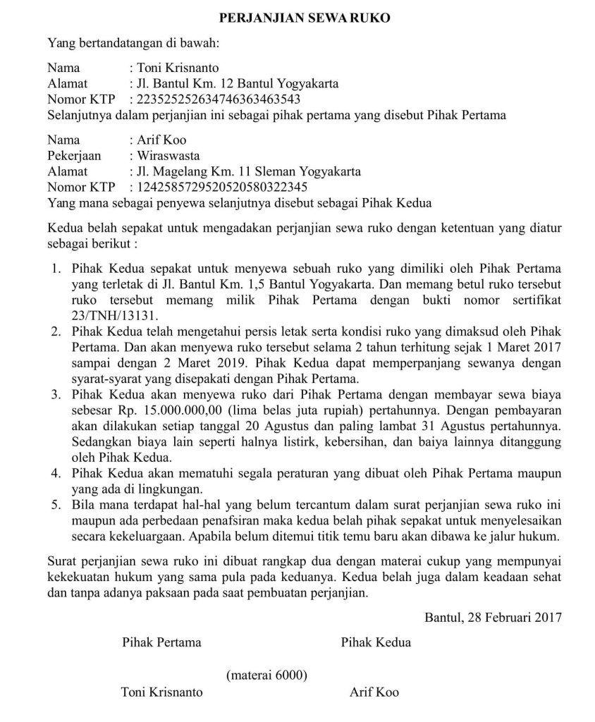 17+ Contoh Surat Keterangan Kesalahan Penulisan Nama Orang ...