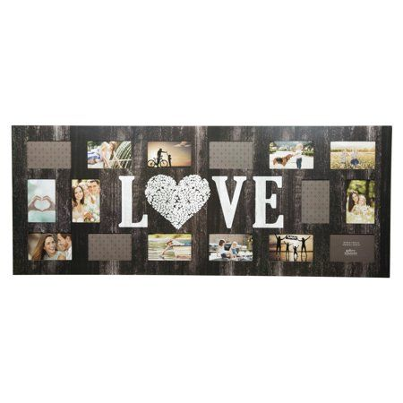 Pinnacle Frames Love 4 X 6 In Collage Picture Frame In 2019