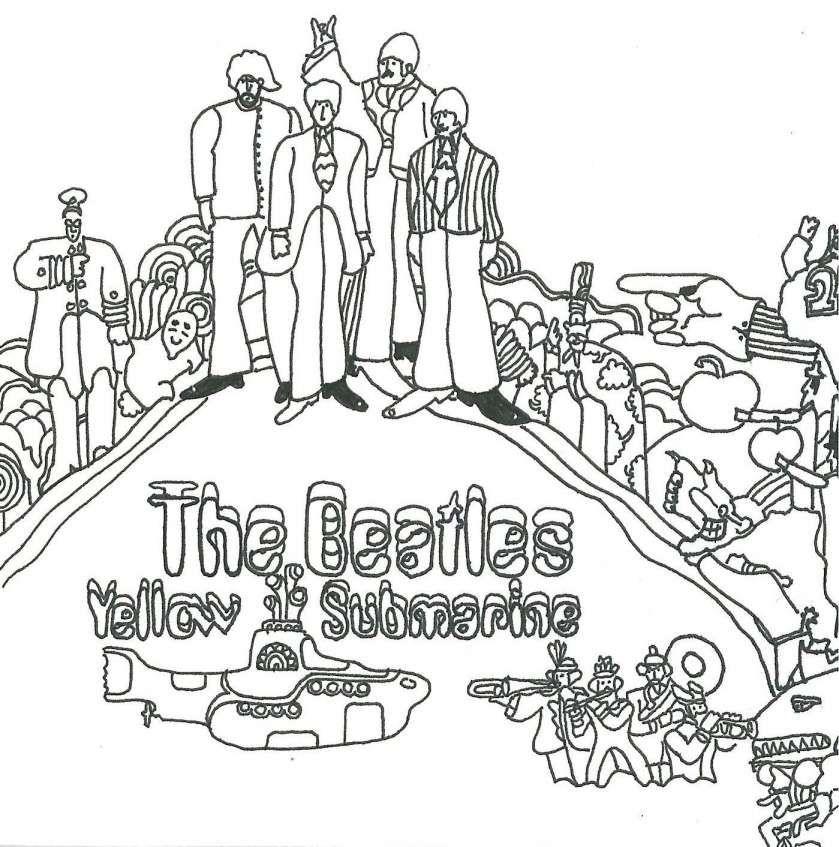 8+ Beatles Coloring Book Pages Coloring Book Pages, The Beatles, Coloring  Books