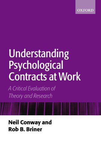 Understanding Psychological Contracts at Work A Critical Evaluation