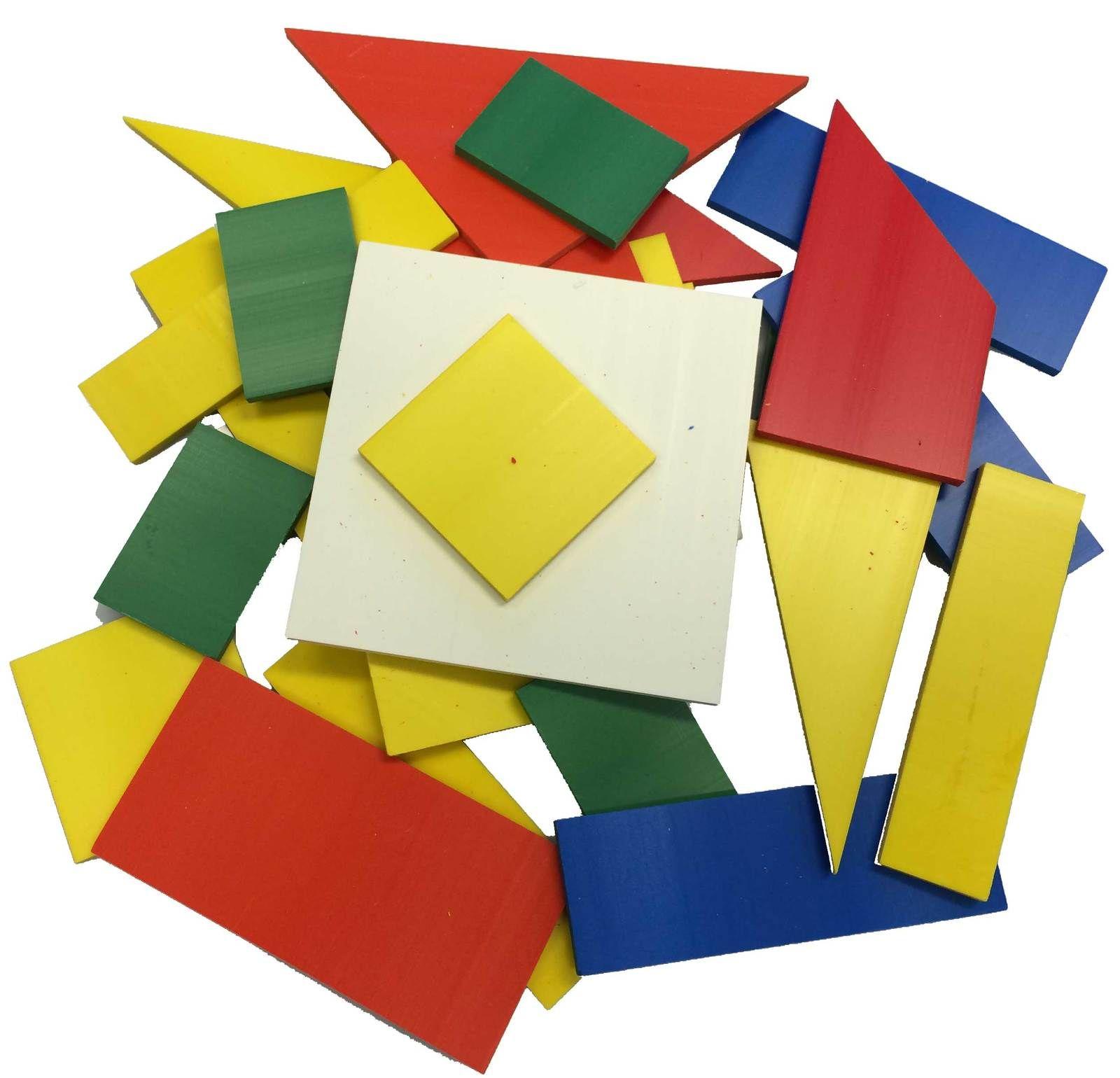 27 Piece Colour Fractions Shapes Set