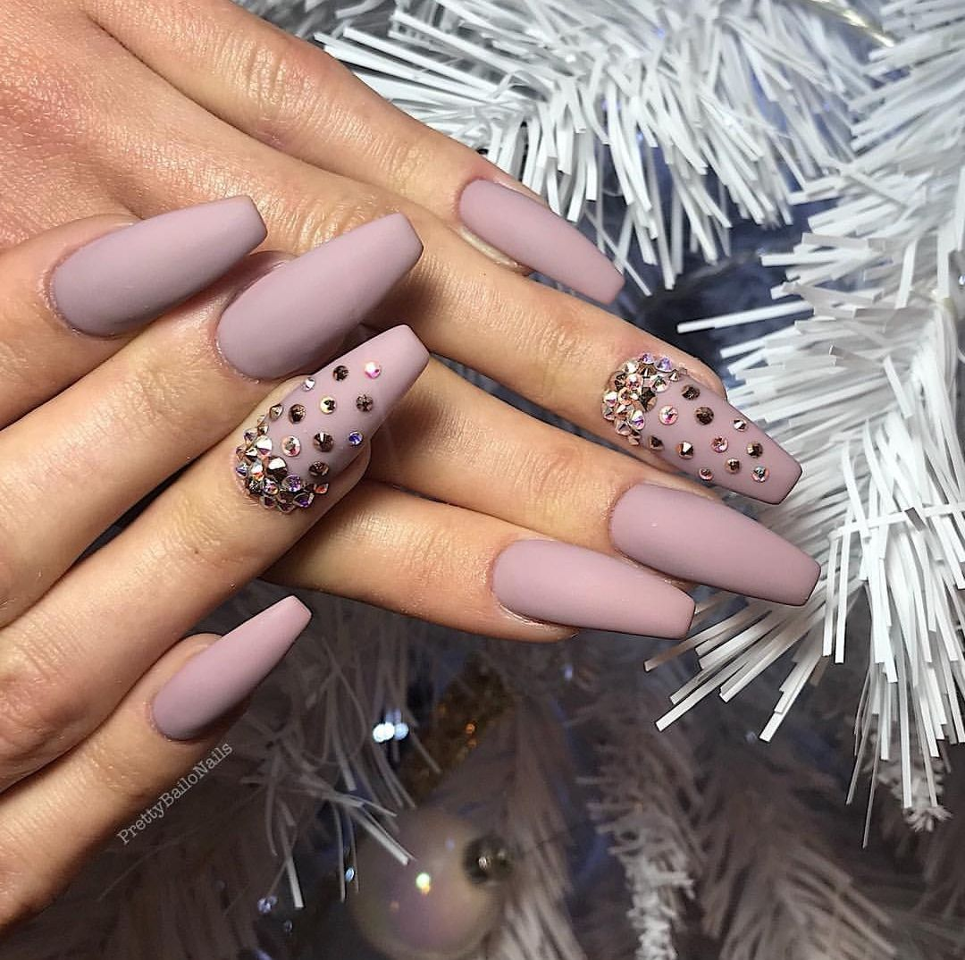 25 Most Stuninng and Gorgeous Matte Nails for Trendy 25   DIATSY ...