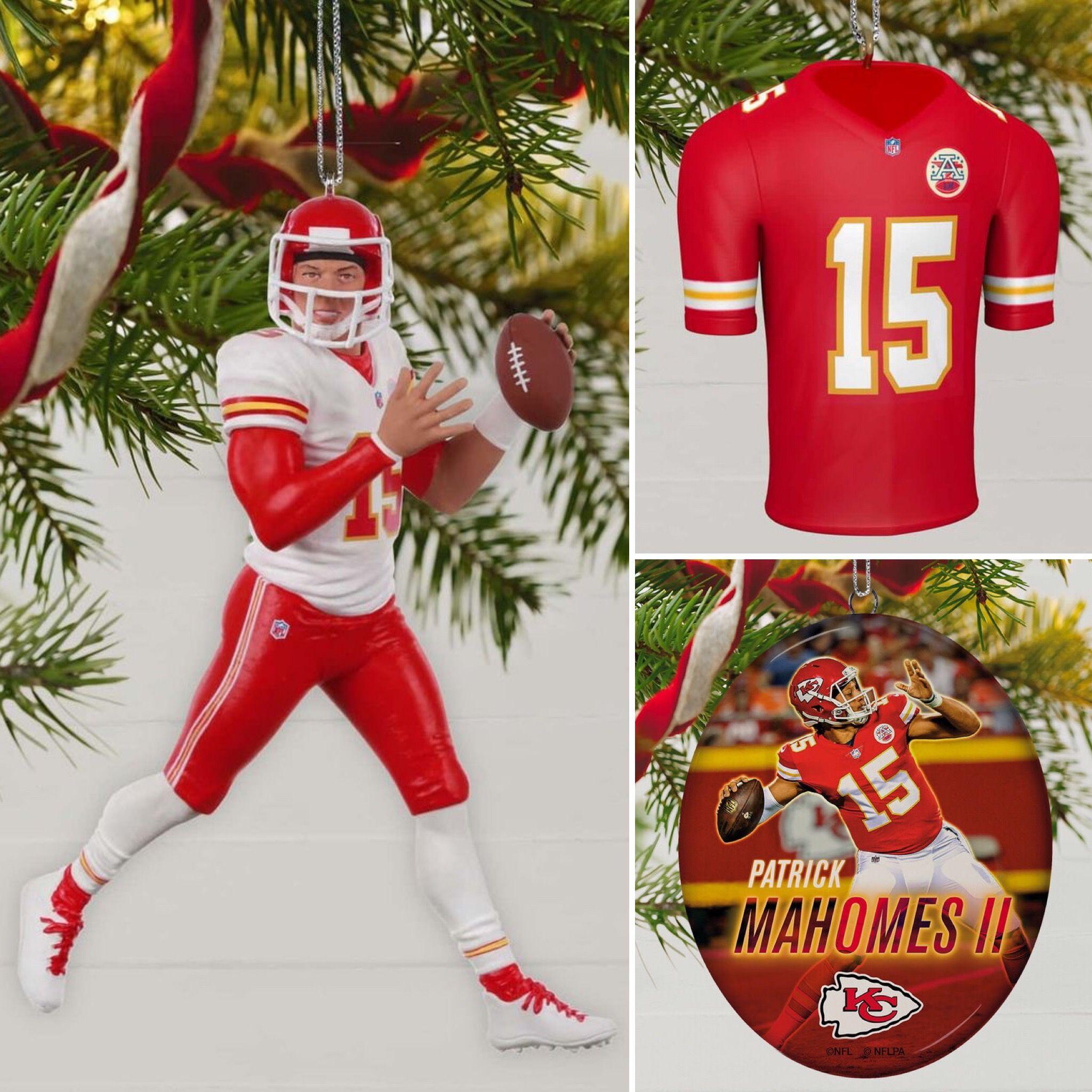 2019 Hallmark Patrick Mahomes Ornaments Kansas City Chiefs Football Kansas Chiefs Nfl Kansas City Chiefs