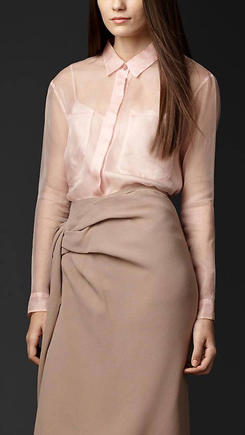 9065335a2bdf Shirts for Women | Sartorial + Icons | Camisa feminina, Burberry e ...