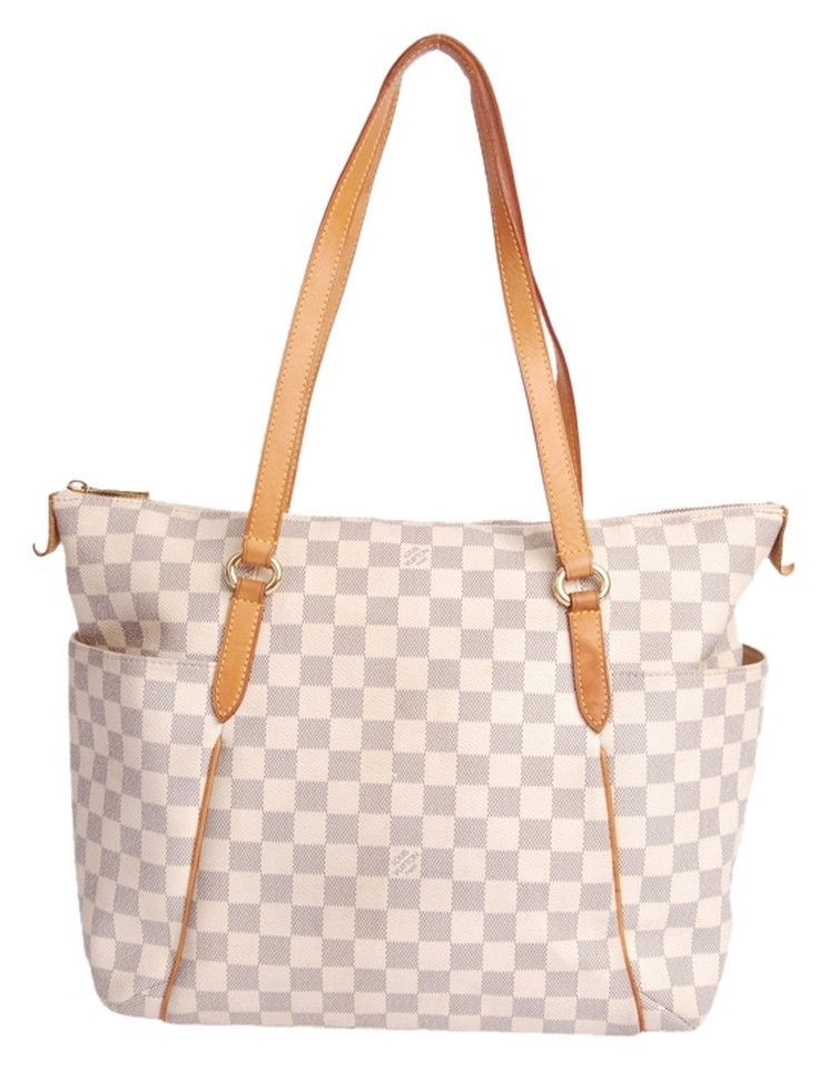 Louis Vuitton Totally Mm Azur (Authentic Pre-Owned)