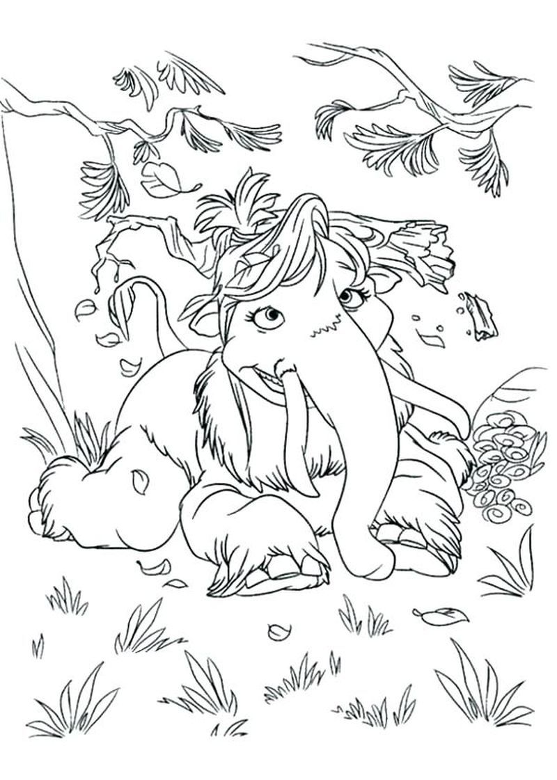 Ice Age Shira Coloring Pages In 2020 Dinosaur Coloring Pages Coloring Pages Animal Coloring Pages