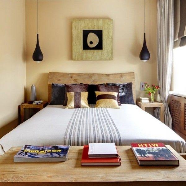 Die passenden Farben für ein kleines Schlafzimmer