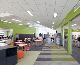Colleges With Interior Design Programs Minimalist interior view of alkira secondary college | ching_minimalist