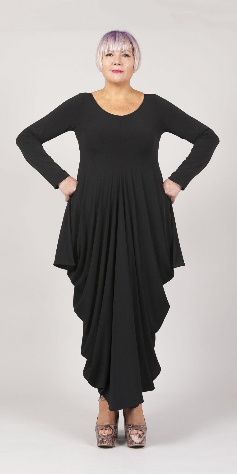 Mashiah Arrive Black Statement Occasion Dress | LAGENLOOK:MY STYLE ...