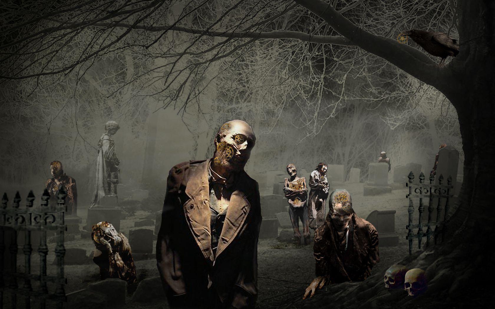 Zombie Stock Yard Imagenes De Miedo Fotos De Terror Fondo De Pantalla Gotico