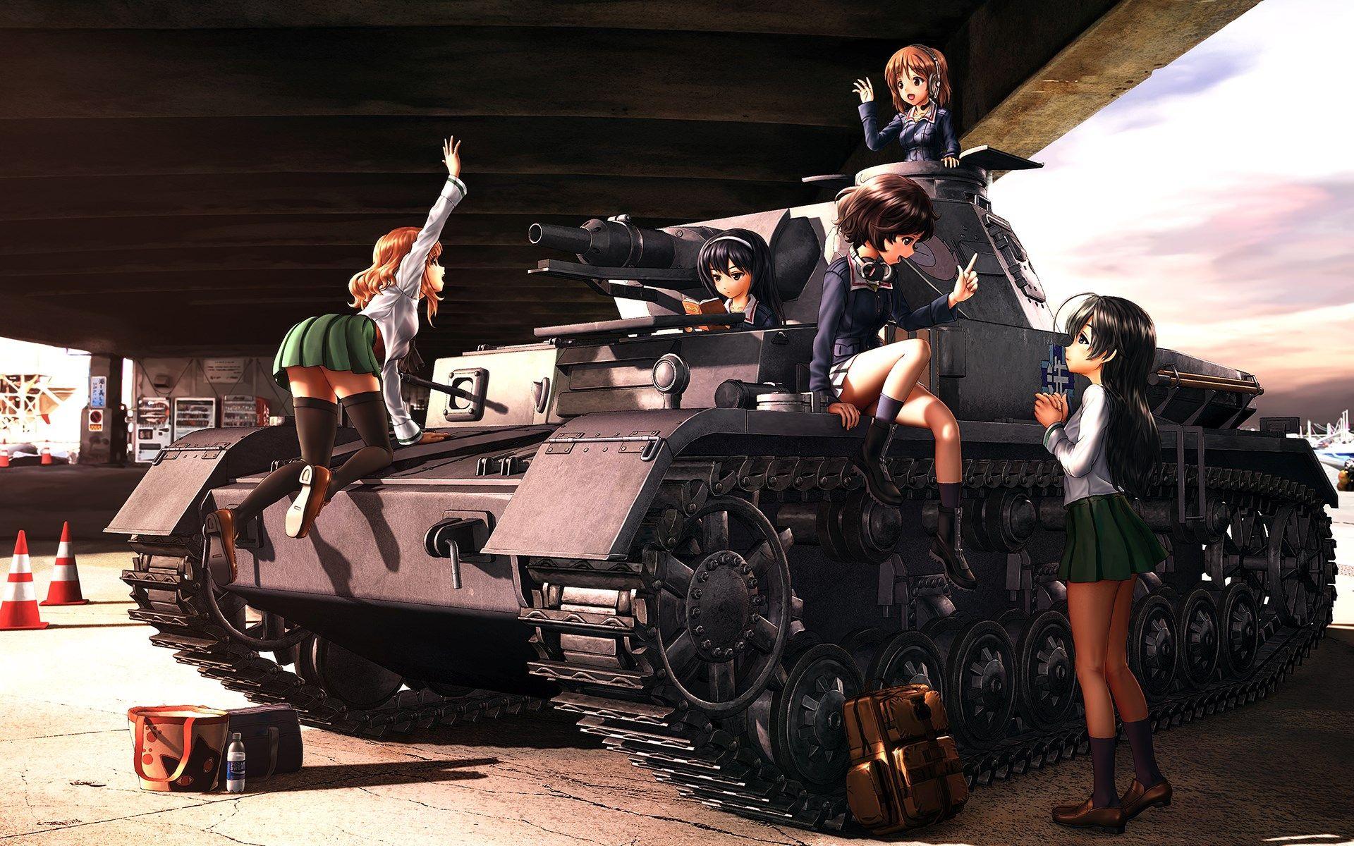 1920x1200 px Quality Cool girls und panzer wallpaper by