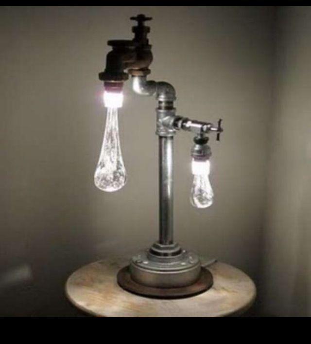 Water drop lamp