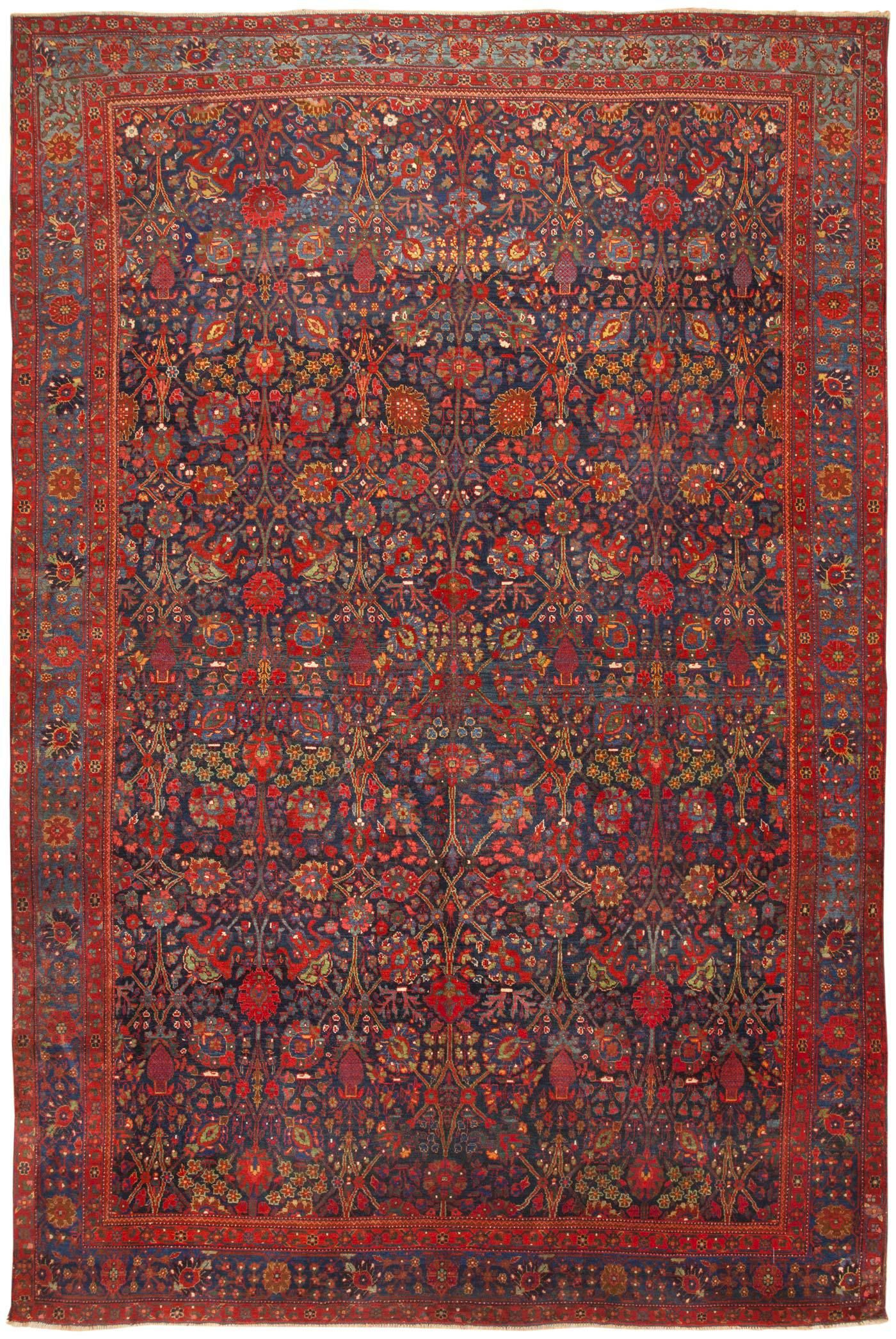 Antique persian kurdish rug main image by nazmiyal also bidjar pinterest