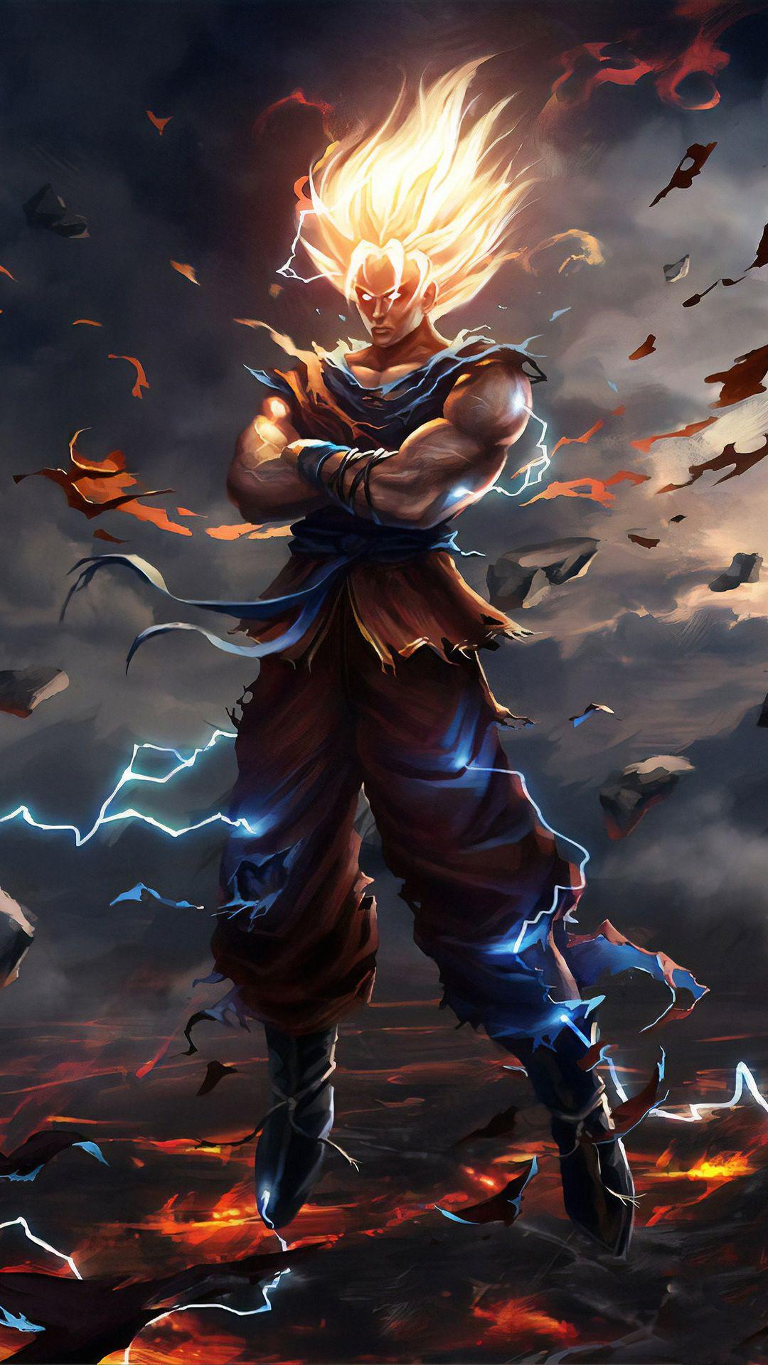 Dragon Ball Goku Son Goku Goku Son Goku Wallpaper Iphone Goku Wallpaper Marvel Wallpaper Hd