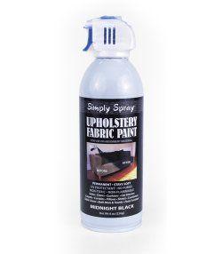 Midnight Black Fabric Paint Spray Dye Large Upholstery Fabric Spray Paint Fabric Spray Paint Spray Painting