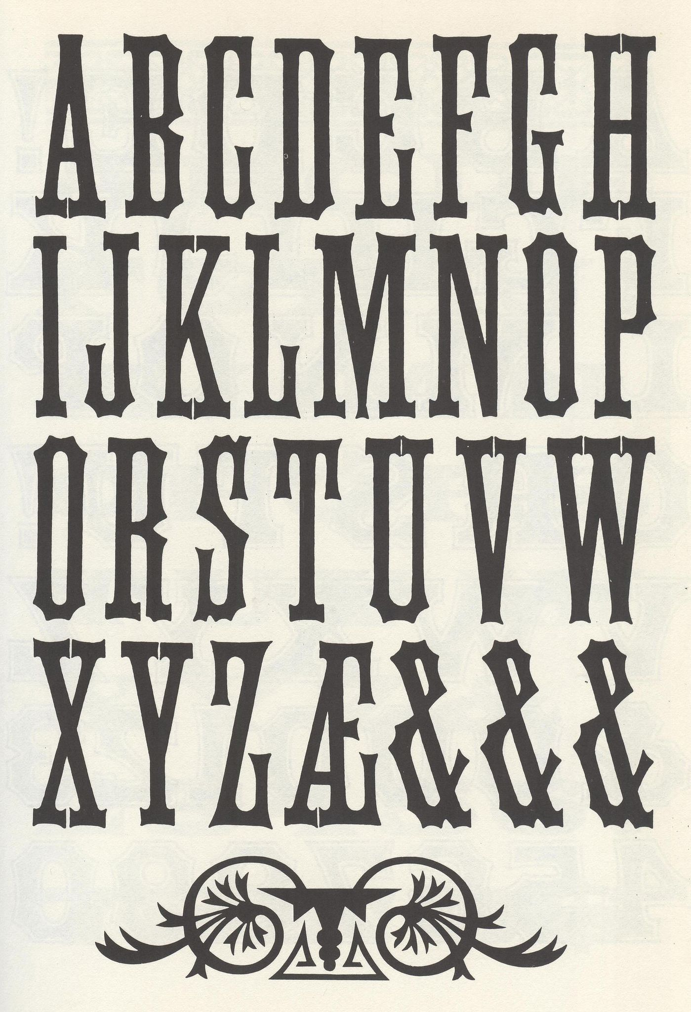 Cool Font Alphabets I Could Interpret Into My Poster