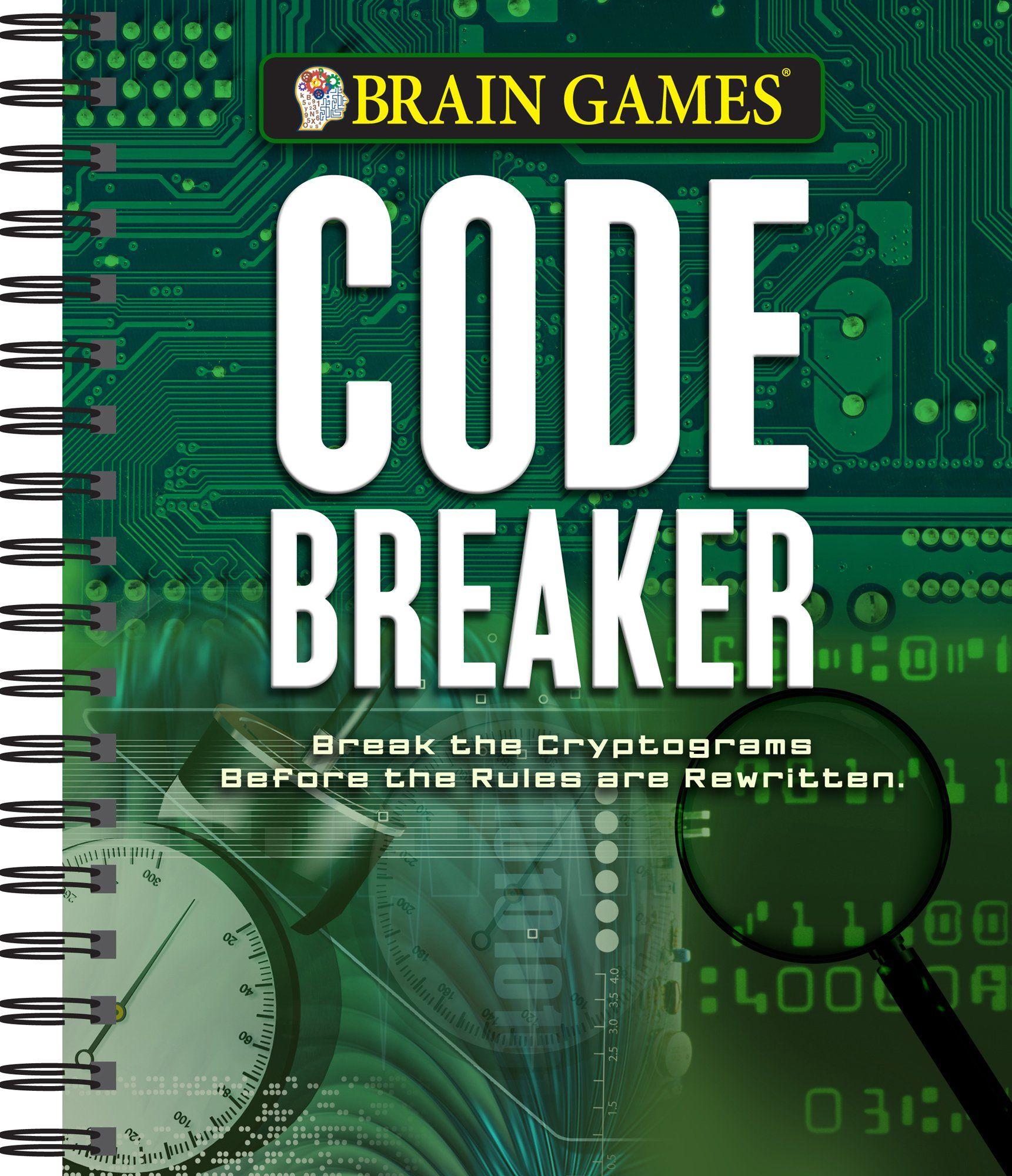 Brain Games Code Breaker Spiralbound February 15