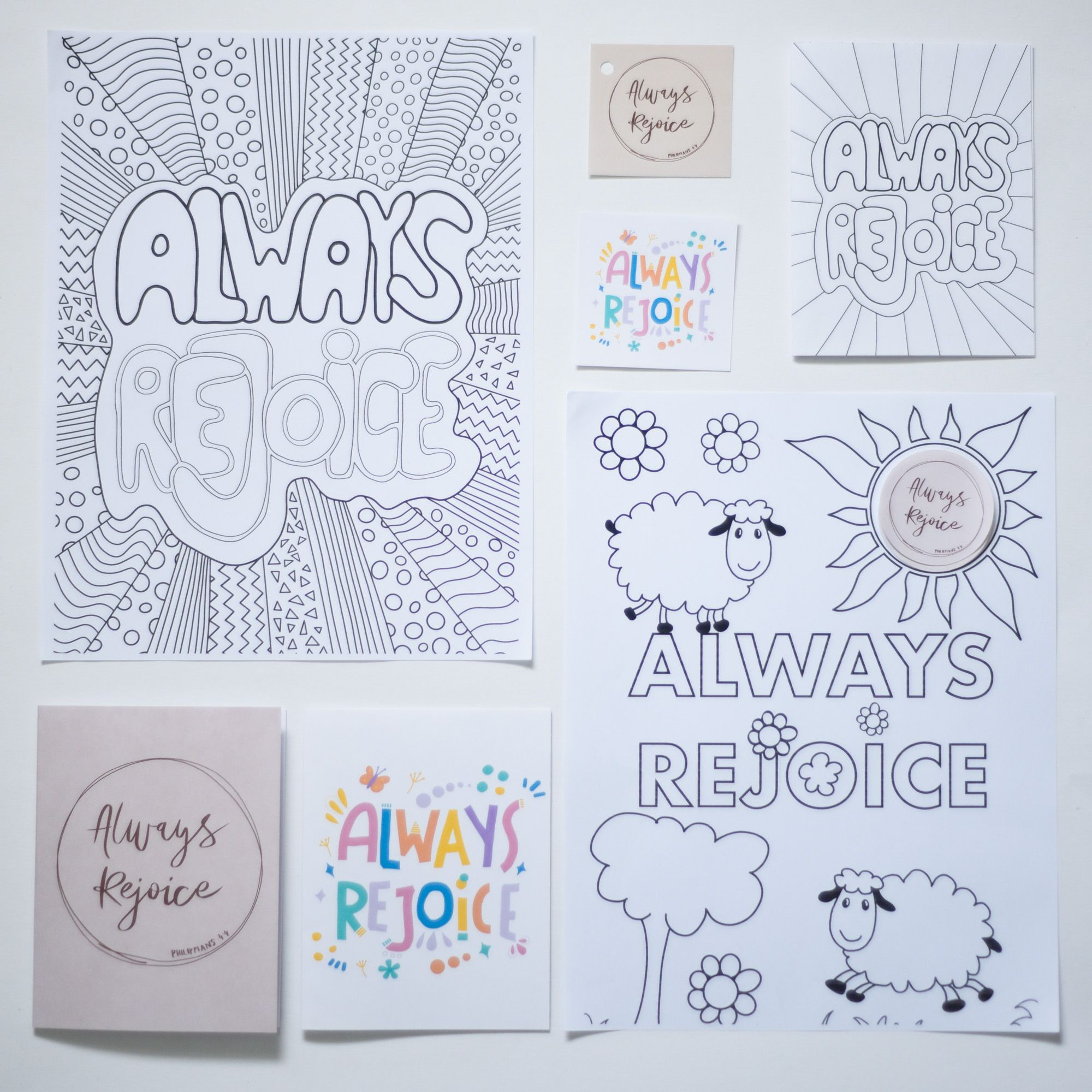 Always Rejoice Printable Convention Set 2020 Convention Gift Greeting Cards Coloring Pages Tags Best Gift Ever Jw Digital Convention Gifts Printable Greeting Cards Jw Gifts