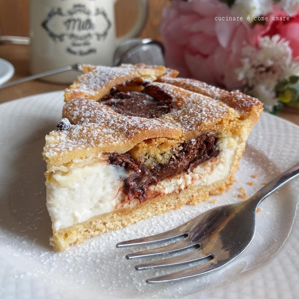 Torta Crostata Mascarpone E Nutella Dolce Ripieno Goloso Cucinare E Come Amare Nel 2020 Dolci Ricette Dolci Dolci Con Mascarpone