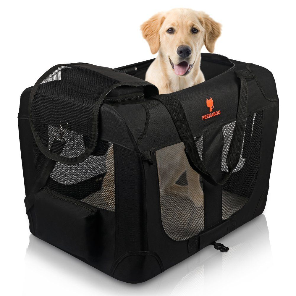 XuCesfs Portable Pet Carrier Cat Carrier Dog Carrier Pet Travel Carrier Cat Carrier Handbag Shoulder Bag for Cats Dogs Pet Kennel Size : L