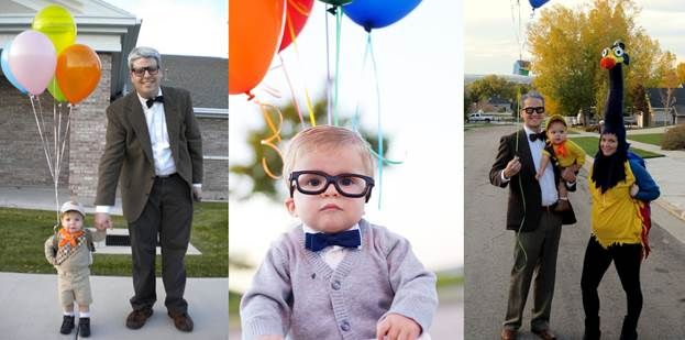 Halloween Costume with Glasses Carl Frederickson from Up - halloween costumes ideas for men
