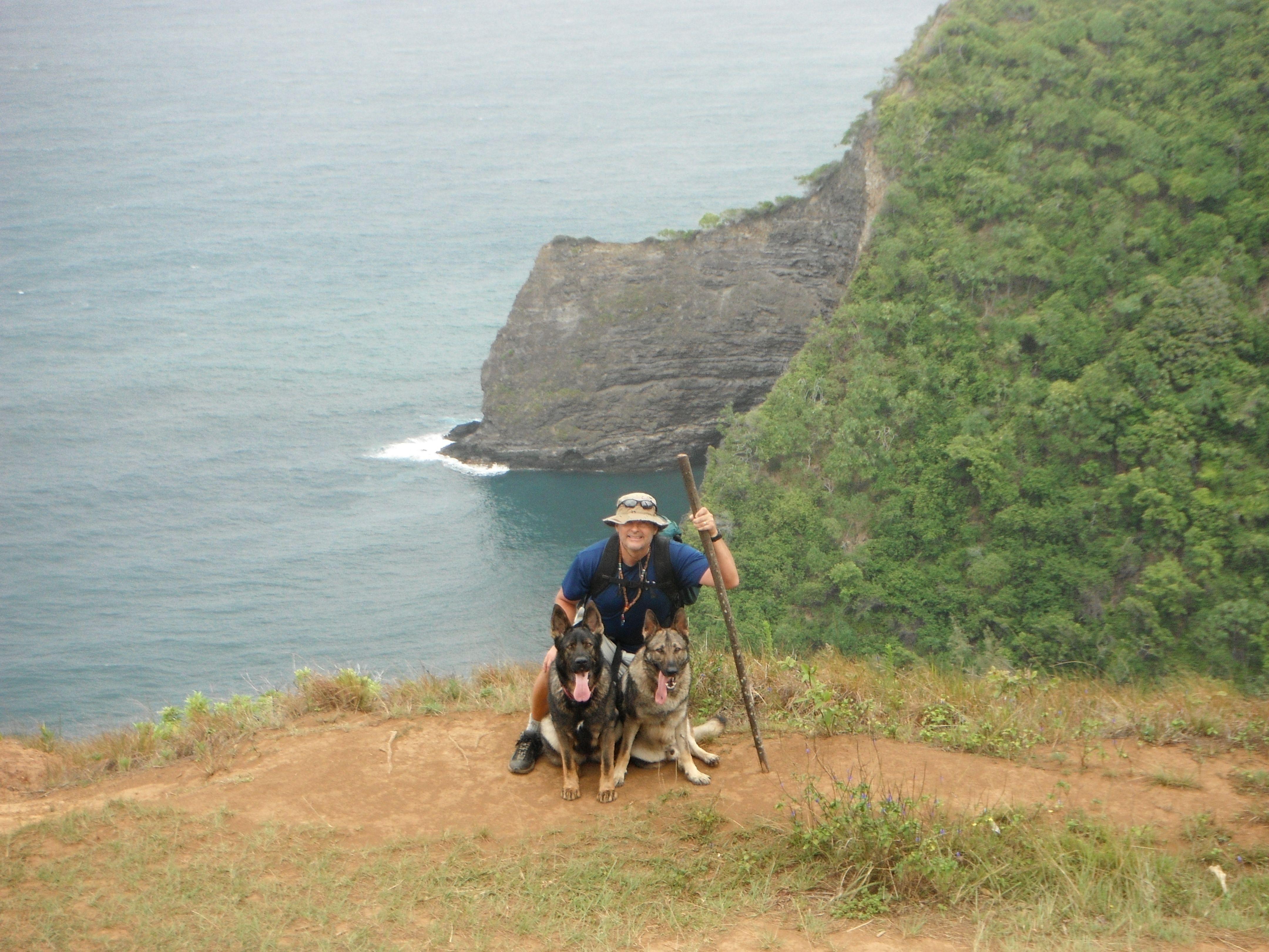 Hawaii pololu trail natural landmarks