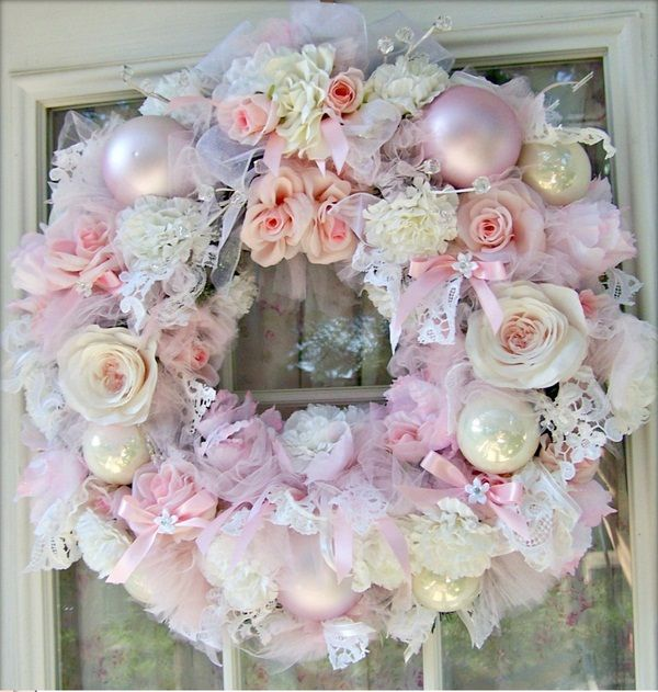 Shabby Chic Christmas Decorating Ideas | Christmas Shabby Chic: Trend  Glamorous For The Holidays