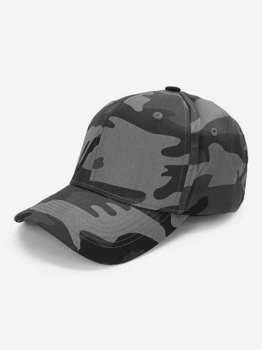 d6cf449bee Men Camouflage Baseball Cap -SHEIN(SHEINSIDE) | Pahsmark Misc~Part ...