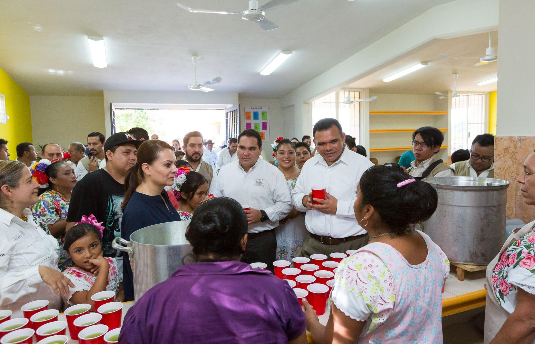 Elevan calidad de vida de comunidades mayas con acciones de vivienda