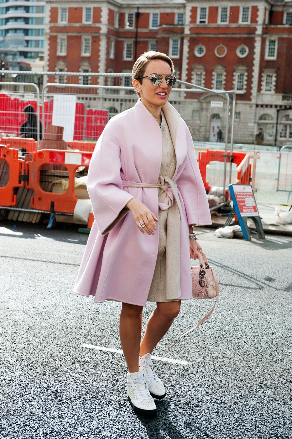 puurty. pink & camel. London.