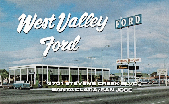 West Valley Ford Santa Clara San Jose Ca 1971 This Deale