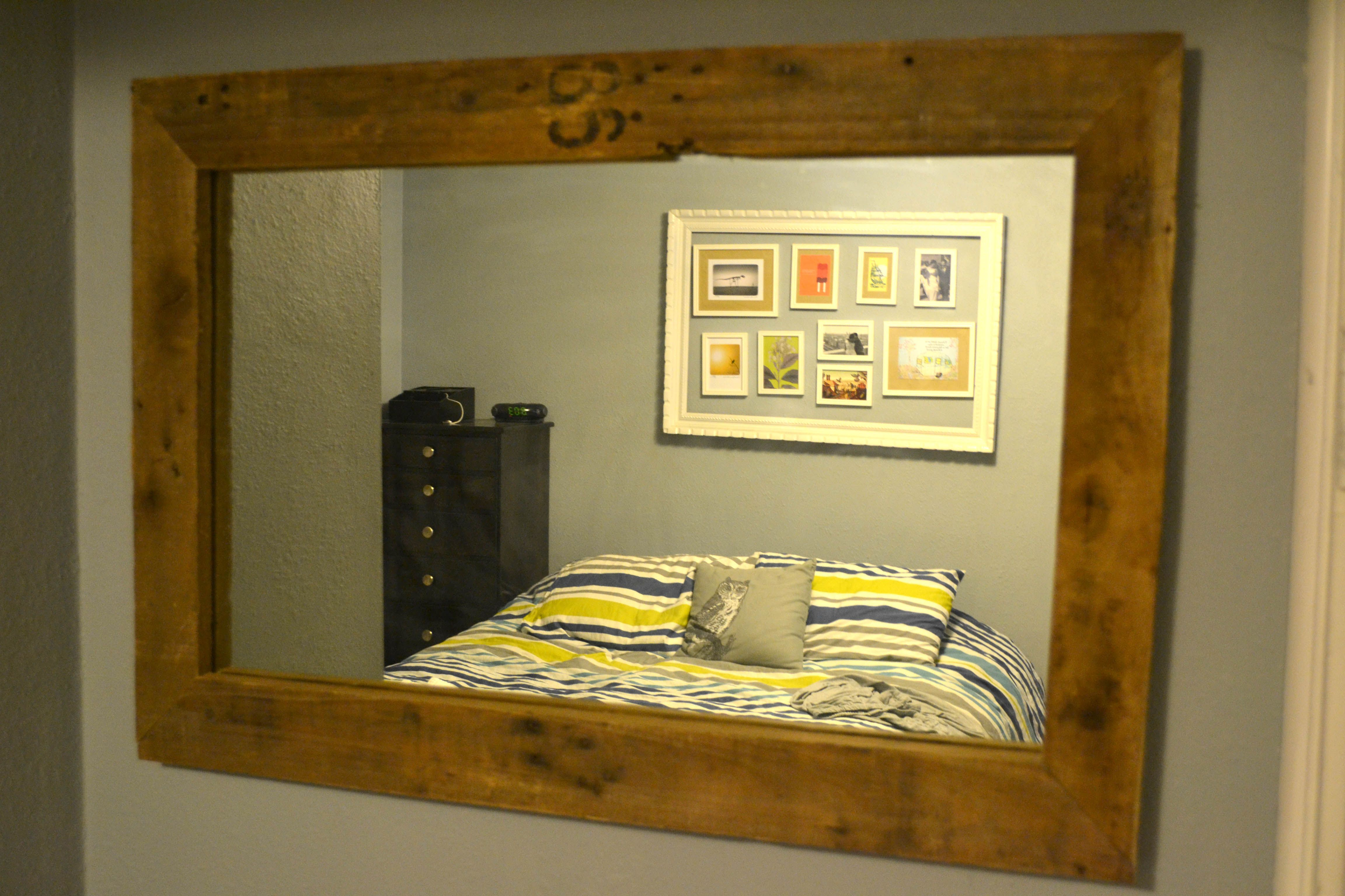 Seven Years of Bad Luck Avoided | Pallet mirror, Pallets and Pallet ...