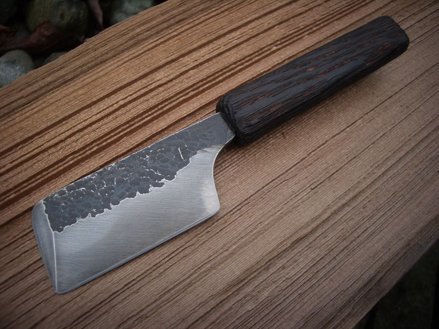 hand forged japanese kitchen knives hand forged japanese style kitchen knife from the west coast of canada kitchen knives knife 1211