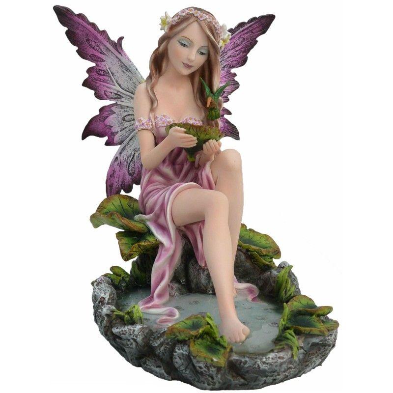 figurine de fée Romanza - Boutique Fées et Féerie Legendya