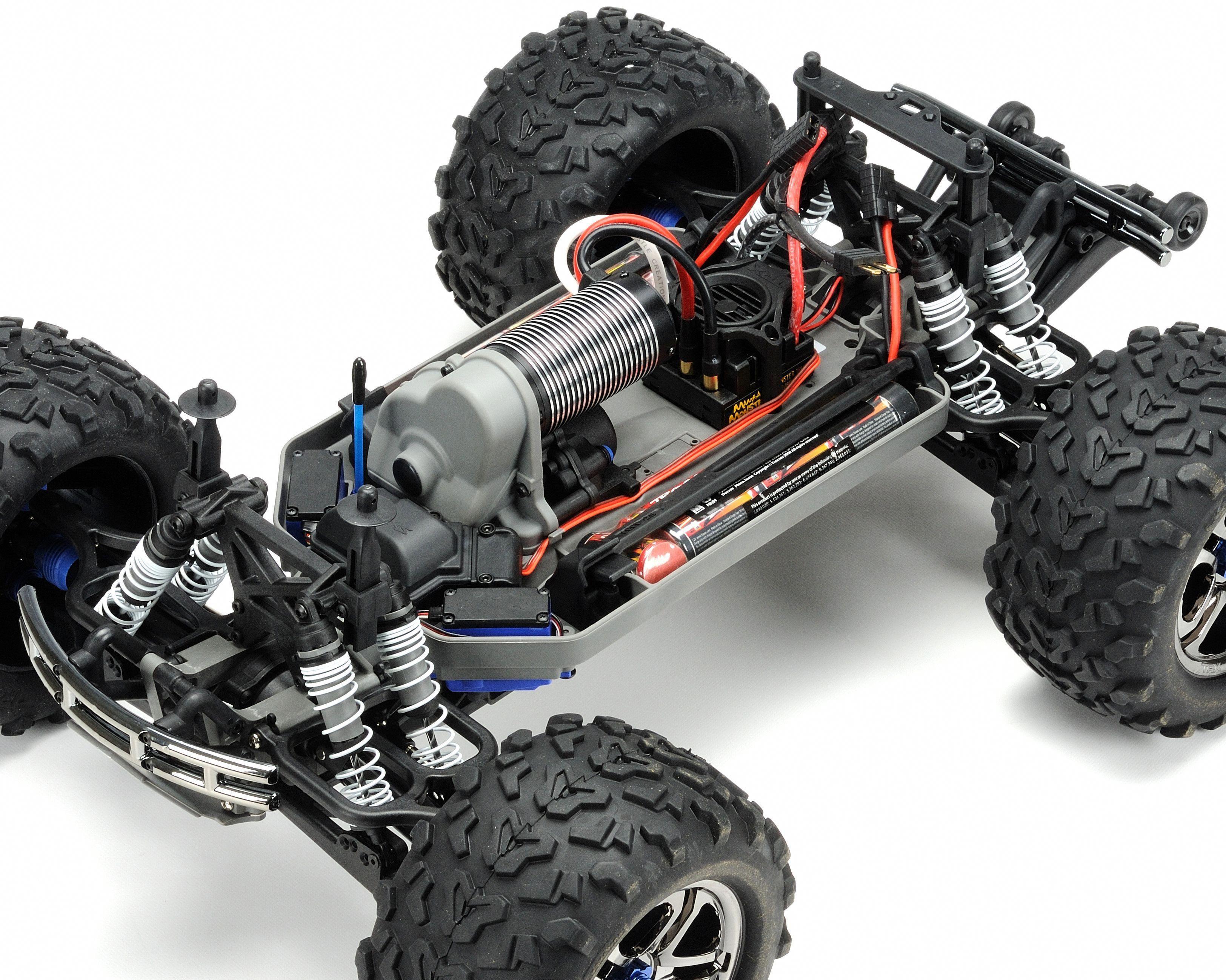 Traxxas EMaxx Brushless RTR Monster Truck w/TQi 2.4GHz