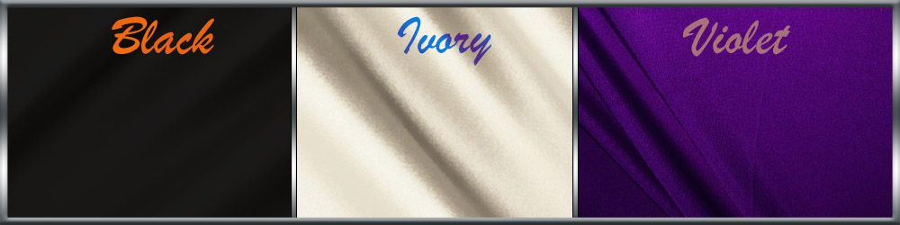 Wedding Colors Ideas  Violet Black Ivory