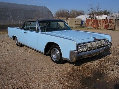 eBay: 1964 Lincoln Continental CONTINENTAL CONVERTIBLE 1964 LINCOLN