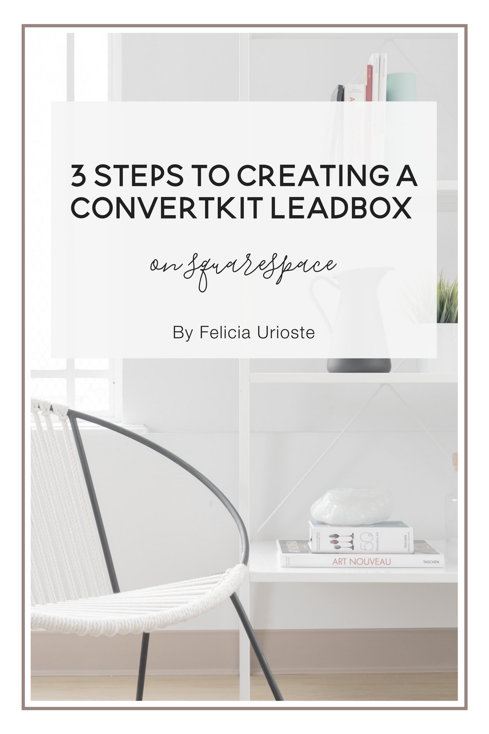 If you use Squarespace and ConvertKit, then you know that there is no way  of creating a lead box on Squarespace unless you buy lead pages or use a  third party app.  The problem with using a third party app is that ConvertKit does not track  analytics which is one of the main reasons for usin