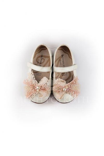 Παπούτσια βάπτισης περπατήματος για κορίτσι της Babywalker  659e9ce2005