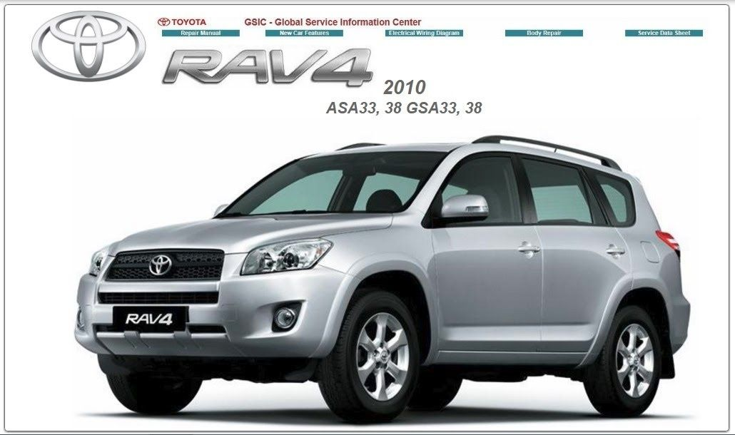 toyota rav 4 2010 gsic asa 33 38 gsa 33 38 workshop manual toyota rh pinterest com 2008 Toyota RAV4 2008 Toyota RAV4