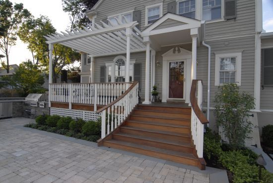 Front Steps Design Ideas cement or stone entry steps google search 1000 Images About Houses With Stairs On Pinterest Exterior Stairs Outdoor Stairs And Cable Railing