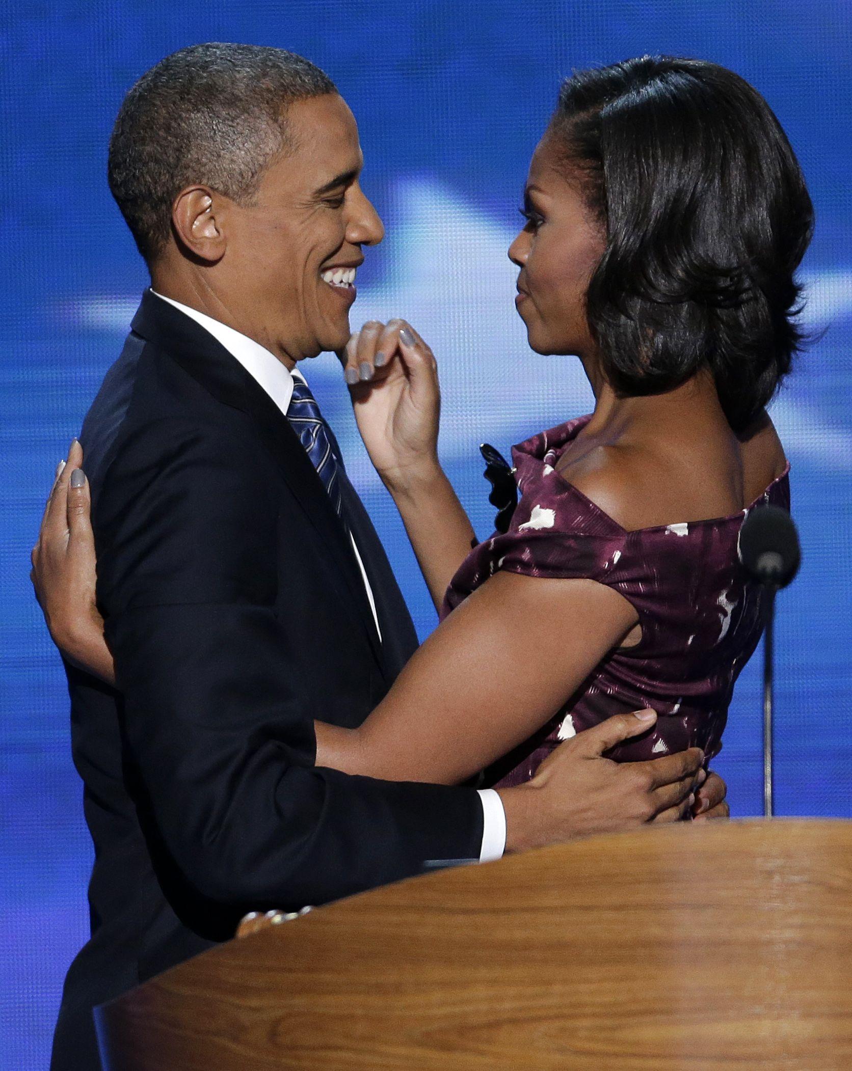 Il presidente Barack Obama di tutti i tempi ha profetizzato il suo amore per la First Lady