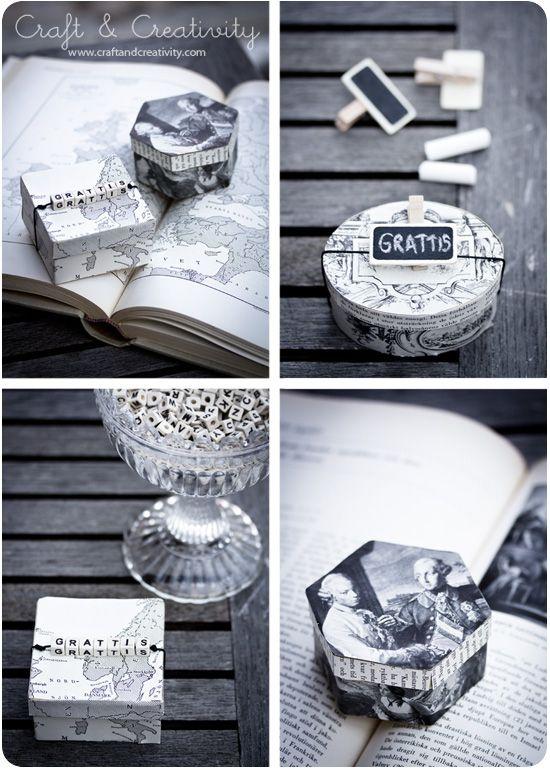Reciclagem livro - por Craft & Criatividade