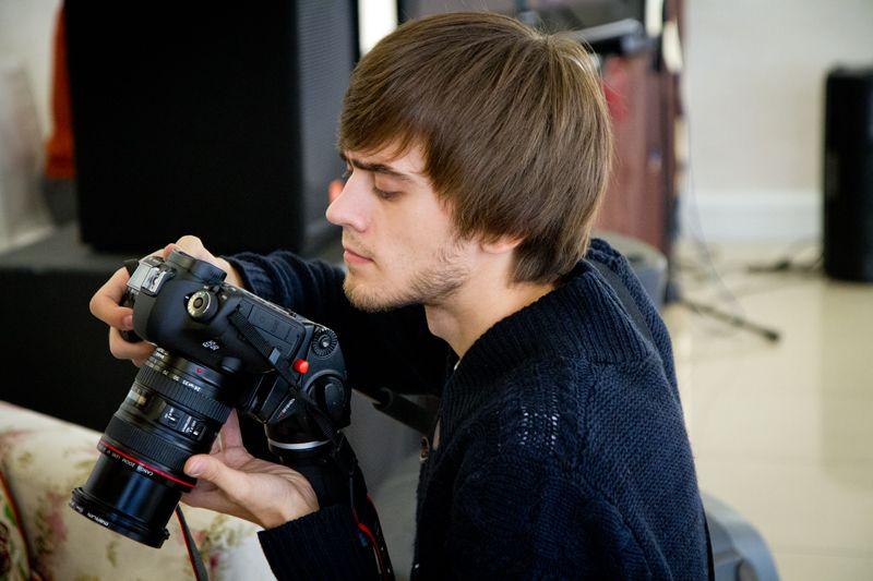 Оператор и режиссёр монтажа Никита Чигинцев. www.chigincev.ru