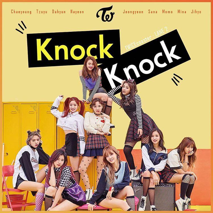 Twice Coaster 06 Twice 트와스 Knockknock Jyp Dahyun