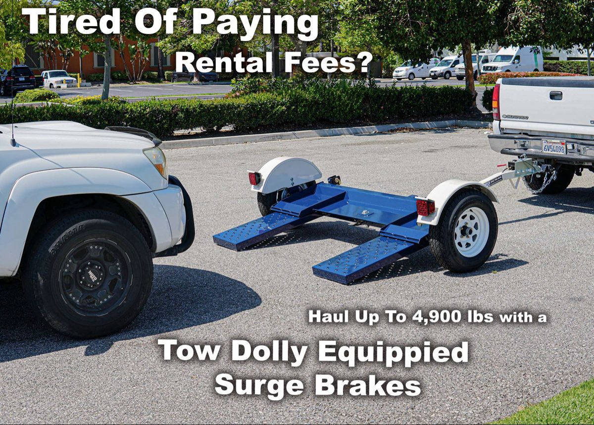 Tow Dolly With Brakes
