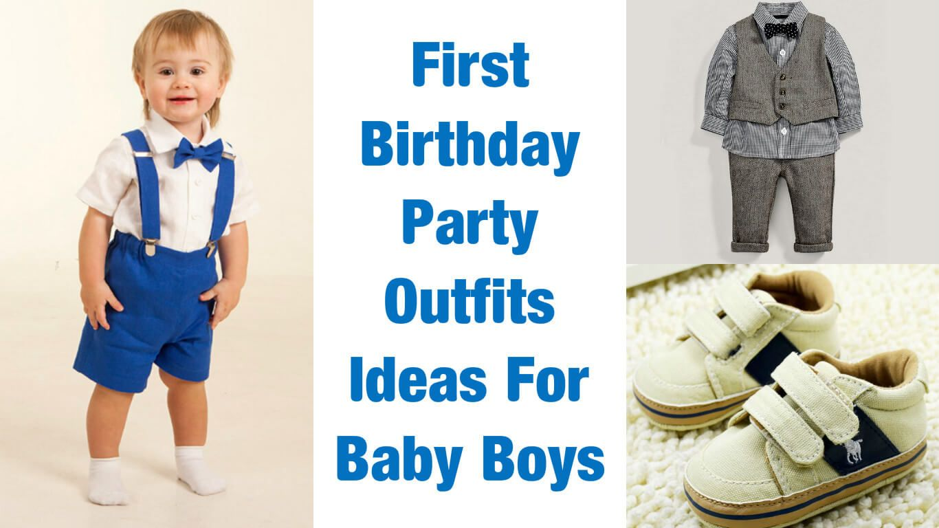 Awesome First Birthday Party Outfits Ideas For Baby Boys in India ...